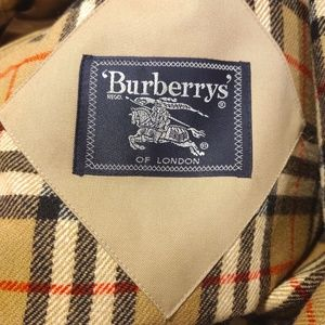 Burberry trench coat Burberrys wool lining